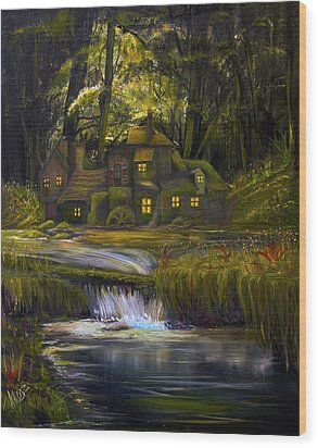 The Mill Wood Print by James Kruse