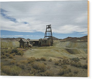 Wood Print featuring the photograph The Mine by Marilyn Diaz