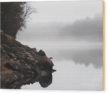 The Mist Wood Print by Dana DiPasquale