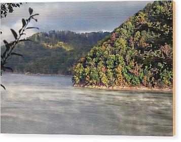 The Mists Of Watauga Wood Print