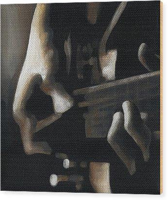 The Moment Wood Print by Natasha Denger