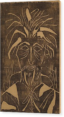 The Monk Wood Print