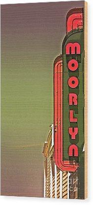 The Moorlyn At The Shore  Wood Print