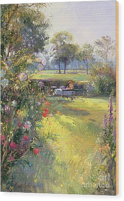 The Morning Letter Wood Print by Timothy  Easton