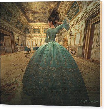 The Morning Room Wood Print