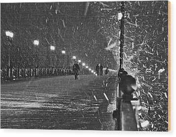 The Moscow Blizzard Wood Print