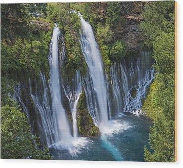 The Most Beautiful Waterfall Wood Print