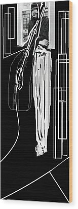 The Musician Wood Print by Rc Rcd