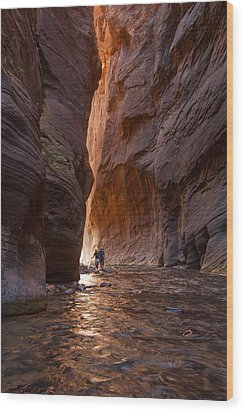 The Narrows 4 Wood Print