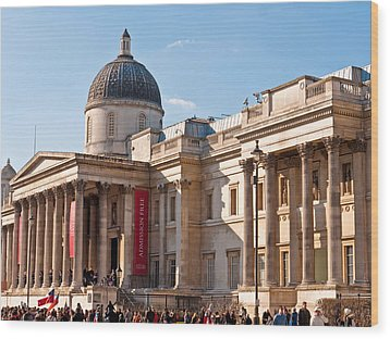 The National Gallery London Wood Print