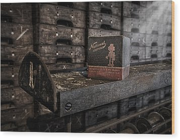 The National Screw Wood Print by Susan Candelario