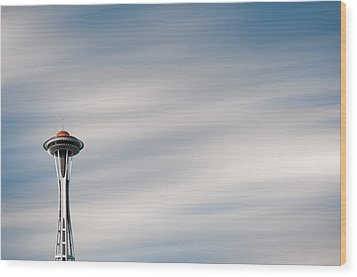 Wood Print featuring the photograph The Needle by Brian Bonham