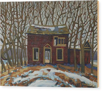 The Neighbour's Wood Print by Phil Chadwick