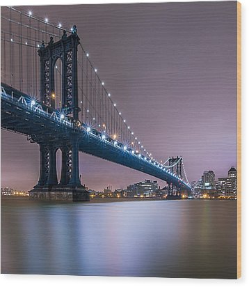 Wood Print featuring the photograph The Night B4 Christmas  by Anthony Fields