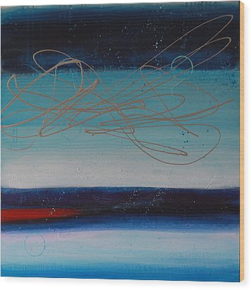 The Night Sky #2 Wood Print