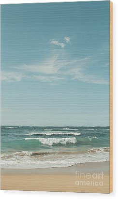 The Ocean Of Joy Wood Print by Sharon Mau