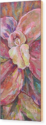 The Orchid Wood Print by Shadia Derbyshire
