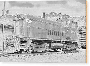 The Old Coors Switcher Wood Print by J Griff Griffin
