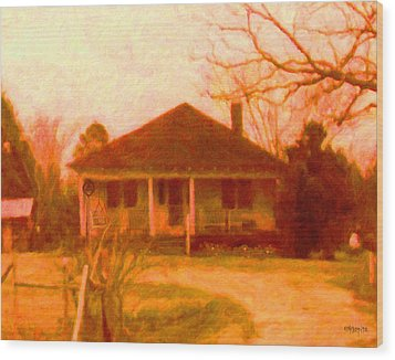 The Old Home Place Wood Print