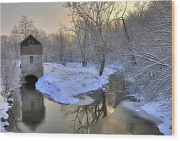 Wood Print featuring the photograph The Old Mill by Dan Myers