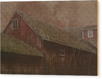 The Old Mill Wood Print by Photographic Arts And Design Studio