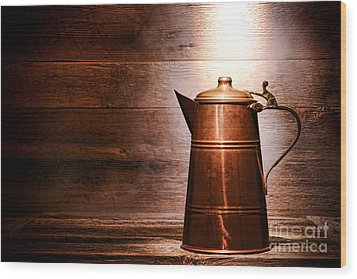 The Old Pitcher Wood Print by Olivier Le Queinec