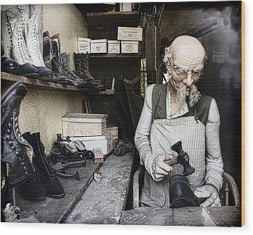 The Old Shoe Cobbler Photograph By Steve Mckinzie