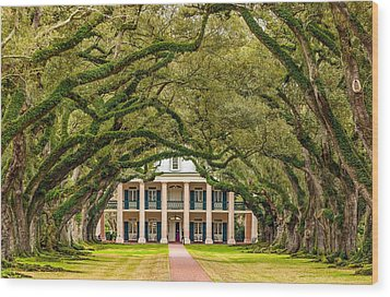 The Old South Version 2 Wood Print by Steve Harrington