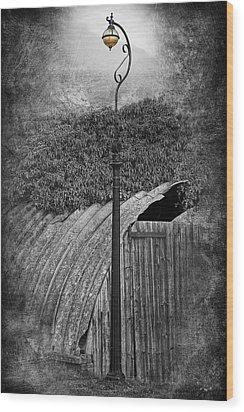 The Old Standard Wood Print by David Davies