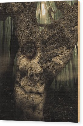 The Old Treant Wood Print