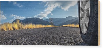 The Open Road 2114 Wood Print