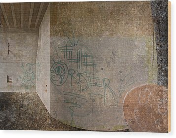 The Order Wood Print by Kandy Hurley