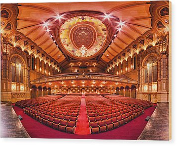 The Orpheum Theatre Wood Print by Alexis Birkill
