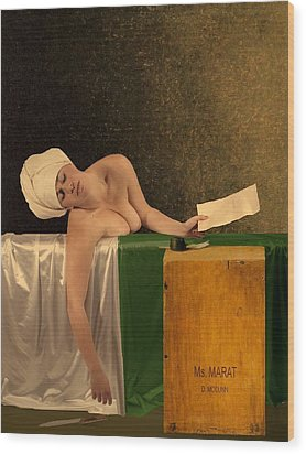 The Other Marat Wood Print