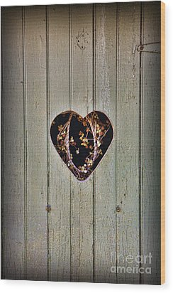 The Outhouse Of Amore Wood Print