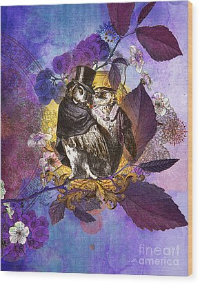 The Owlsleys Wood Print by Aimee Stewart