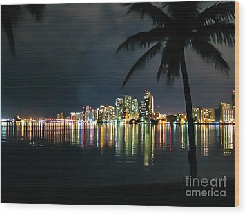 The Painted City Wood Print by Rene Triay Photography