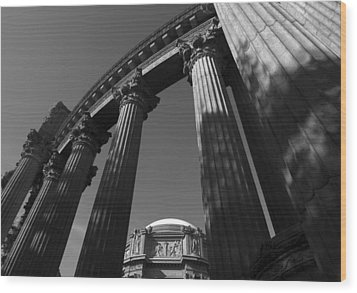 The Palace Of Fine Arts In San Francisco Wood Print