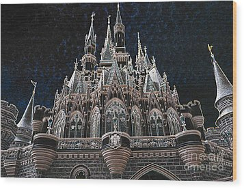 Wood Print featuring the photograph The Palace by Robert Meanor