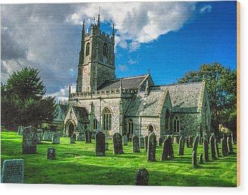 The Parish Church Of St. James Wood Print by Ross Henton