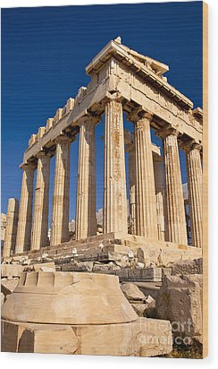 The Parthenon Wood Print by Brian Jannsen