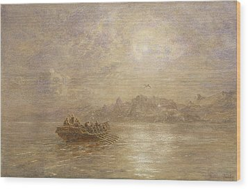 The Passing Of 1880 Wood Print by Thomas Danby