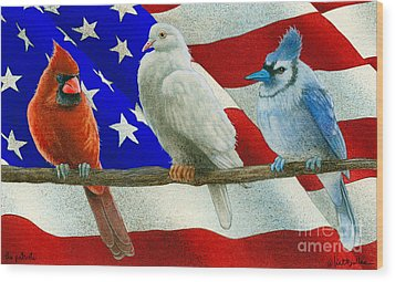 The Patriots... Wood Print by Will Bullas