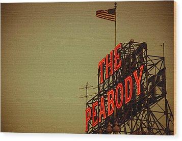 The Peabody Wood Print