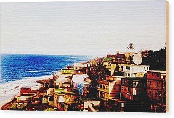 The Pearl Of Old San Juan Wood Print by Sandra Pena de Ortiz