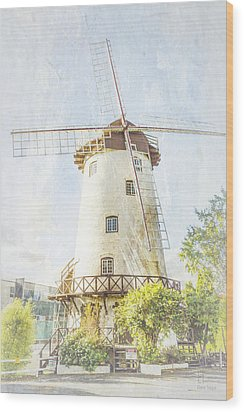 The Penny Royal Windmill Wood Print