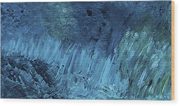 The Perfect Storm - Sold - Oil Painting Wood Print