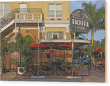 The Ponce De Leon Hotel Wood Print by HH Photography of Florida