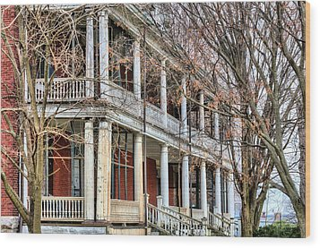 The Porch Wood Print by JC Findley