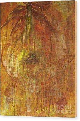 Wood Print featuring the painting The Power Of Love by Delona Seserman